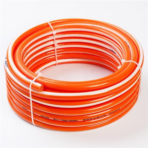 Low price light weight fiber braided pvc hose