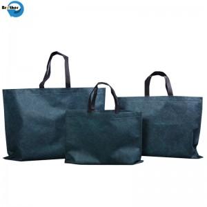Wholesale Cheap Custom Printing Handbags Eco Friendly Laminated Reusable Supermarket Carry Bag Non-Woven Foldable Tote PP Non-Woven Promotion Shopping Bags