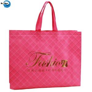 Cheap Price Custom Logo Eco Bag, Printed Recyclable Shopping Bag, Shopping Fold Tote PP Laminated Non Woven Bag