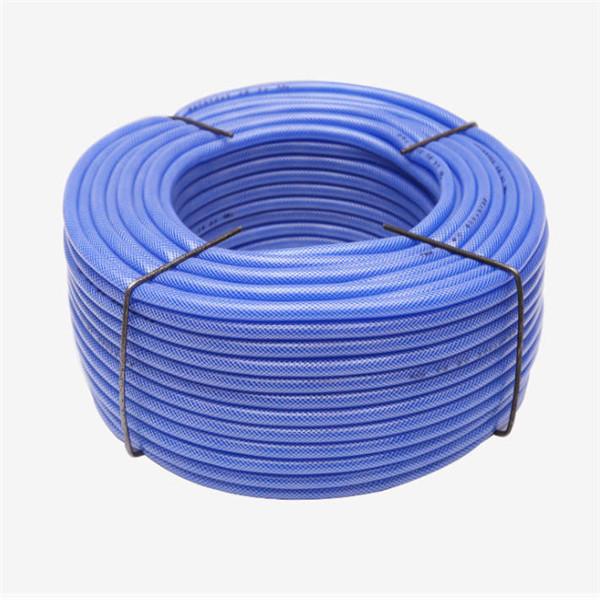 No Smell Good Quality Colorful Flexible Fiber Braided Reinforce Plastic Pvc Garden Hose